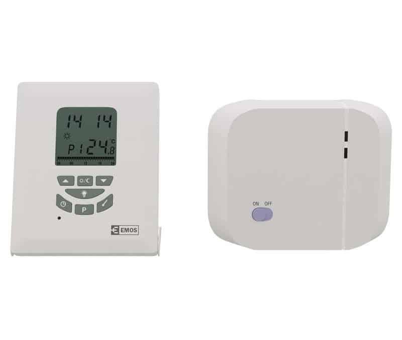 Termostat, sobni, brezžični, programabilni, SARV105 868 MHz